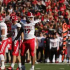 Linebacker Mo Bradford had an interception in Cornell's 14-8 loss to Georgetown.