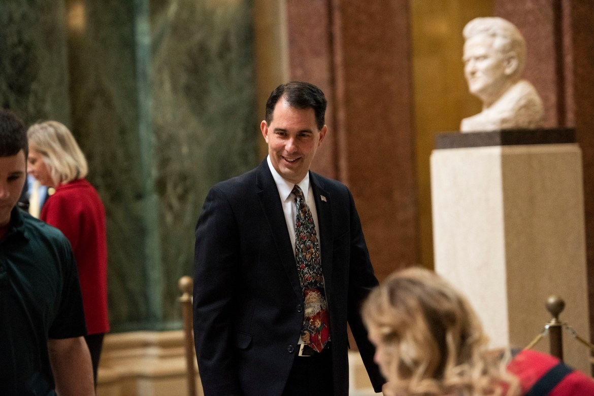 Former governor Scott Walker will be speaking at Cornell on November 4. Walker lost his chance at a third term as governor of Wisconsin to his opponent Tony Evers by a single percentage point.