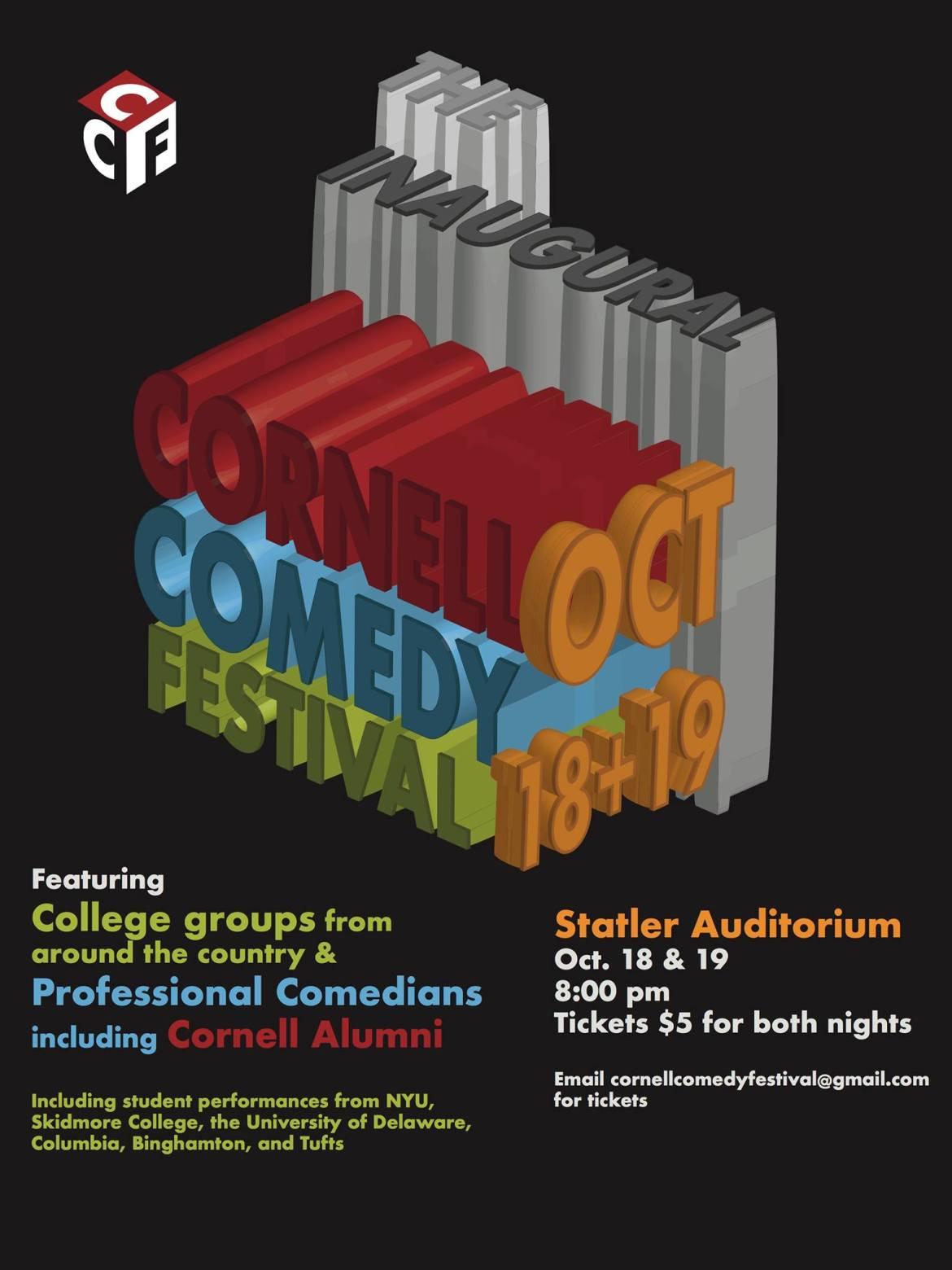 Cornell Hosts Inaugural Comedy Festival