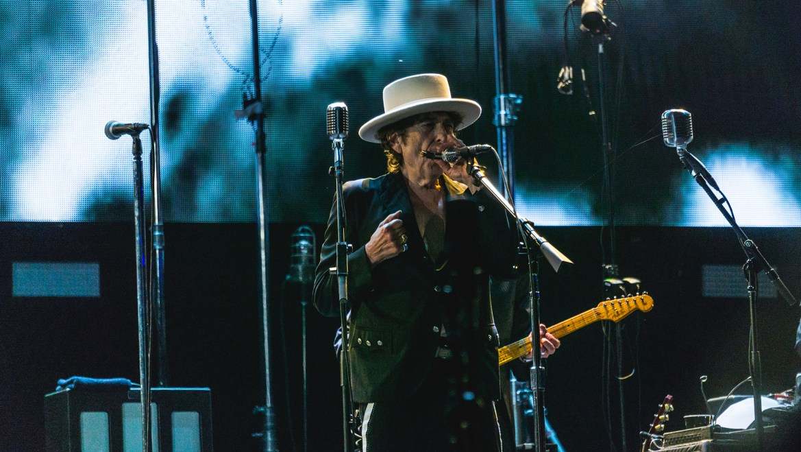 Bob Dylan Performs At Ithaca College