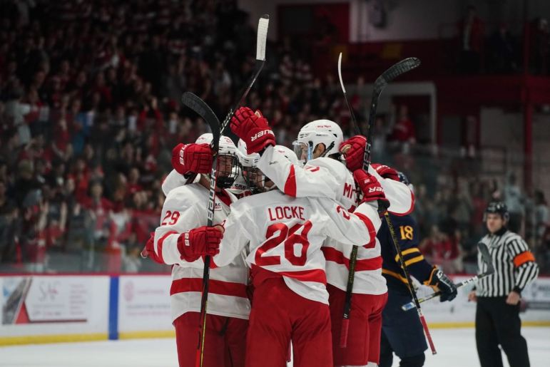 Cornell's penalty-kill unit came in with a 70% success rate, but it went 5-for-5 against Quinnipiac to help secure the win.