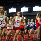 Seven members from both the men's and women's teams qualified for the ECAC/IC4A Championships.