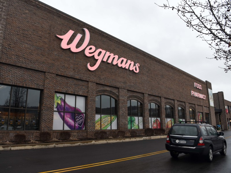 A Wegmans employee who works at the store's coffee shop tested positive for COVID-19, the Tompkins County Health Department announced on Sunday.