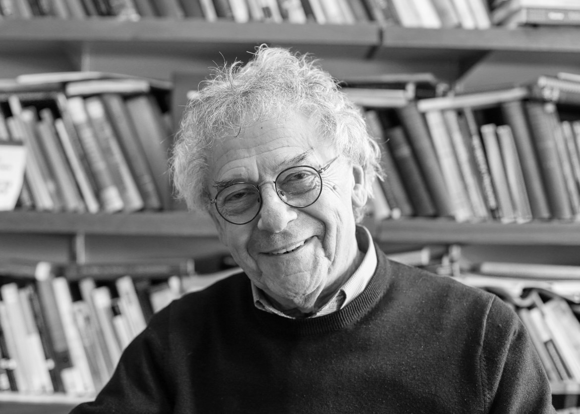 A portrait of Professor Kramnick on March 16, 2015.