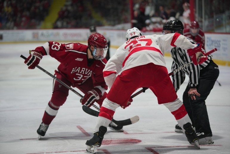 Earlier in the season, Cornell defeated Harvard, 3-1, on the road.