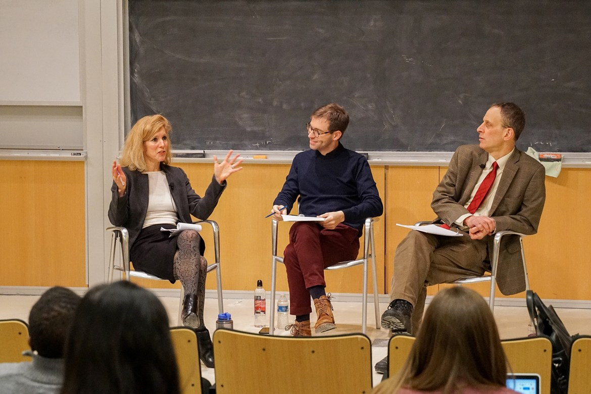 Prof. Sarah Kreps, government, Prof. David Bateman, and Prof. Michael Dorf, law, discuss the ongoing Senate impeachment trial.