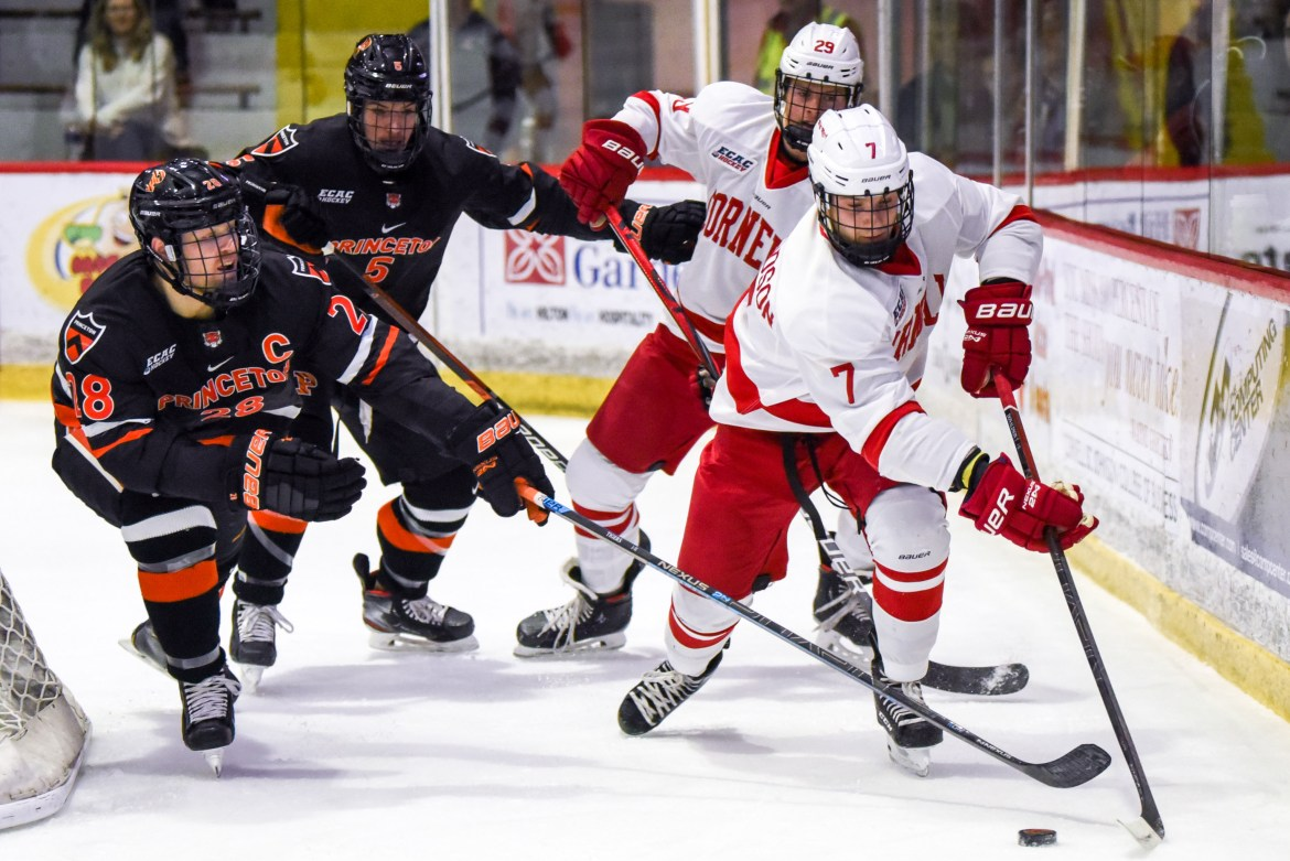 Cornell scored three power-play goals on the night — but allowed just as many.