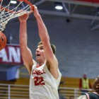 Josh Warren recorded 18 points and 10 rebounds in Cornell's second Ivy victory of the season.