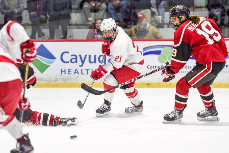 After a slow start, Cornell came back out with improved precision and executed its plays.