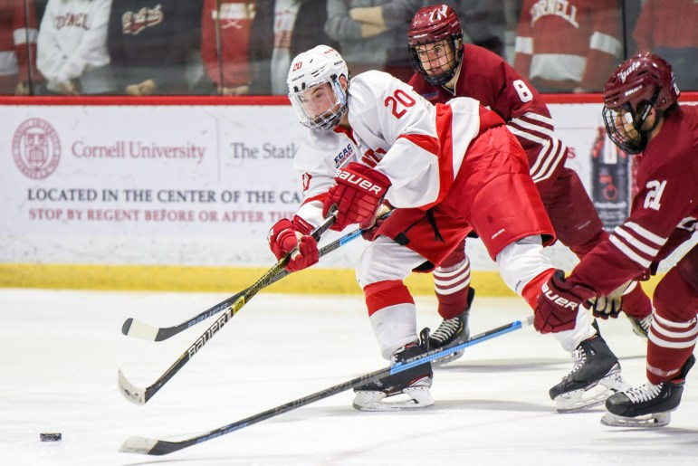 Cornell regressed on the penalty kill, allowing two power-play scores.