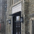 Myron Taylor hall was one of the places Cornell Police found with instances of graffiti on Saturday at around 12:20 a.m.