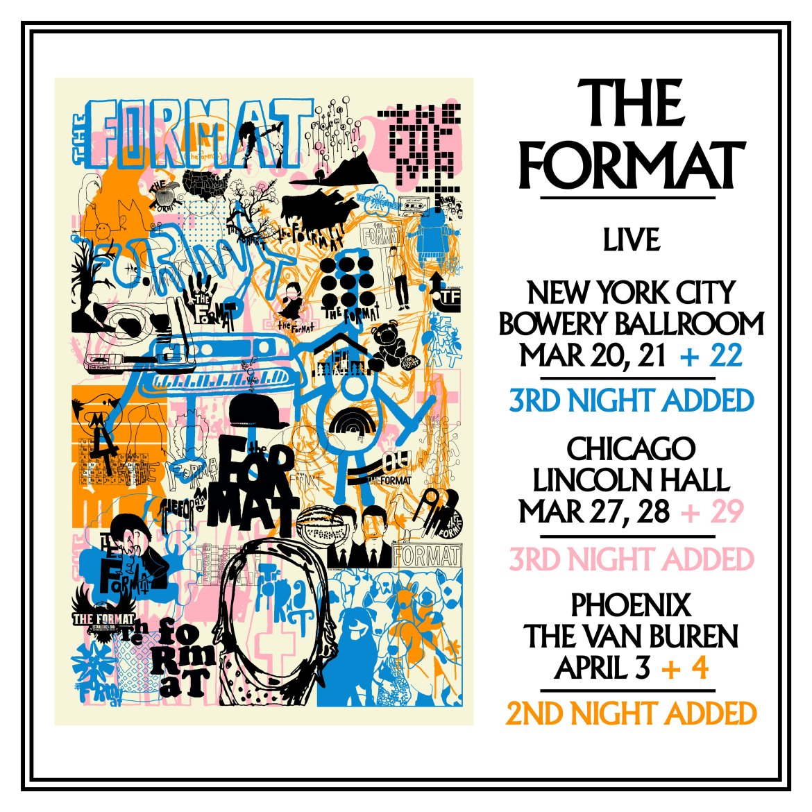 the format poster