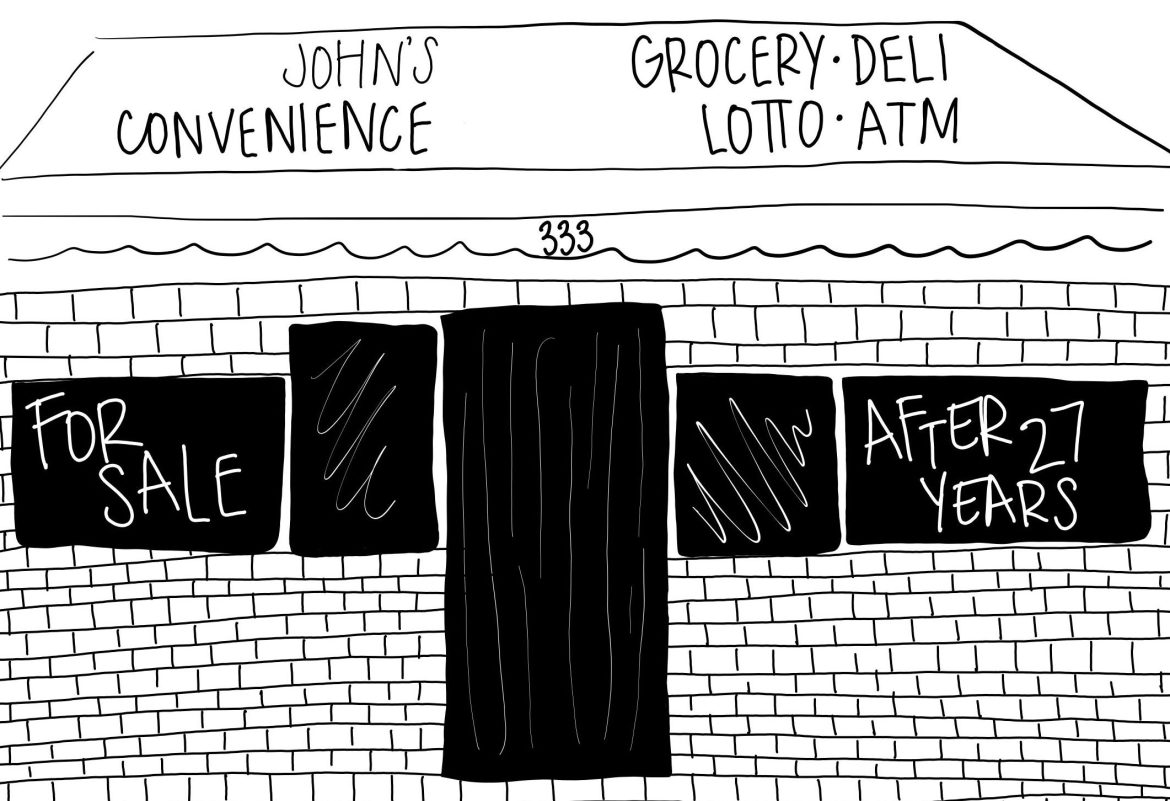 After 27 years of service, Johns Convenience is shuttering its doors.