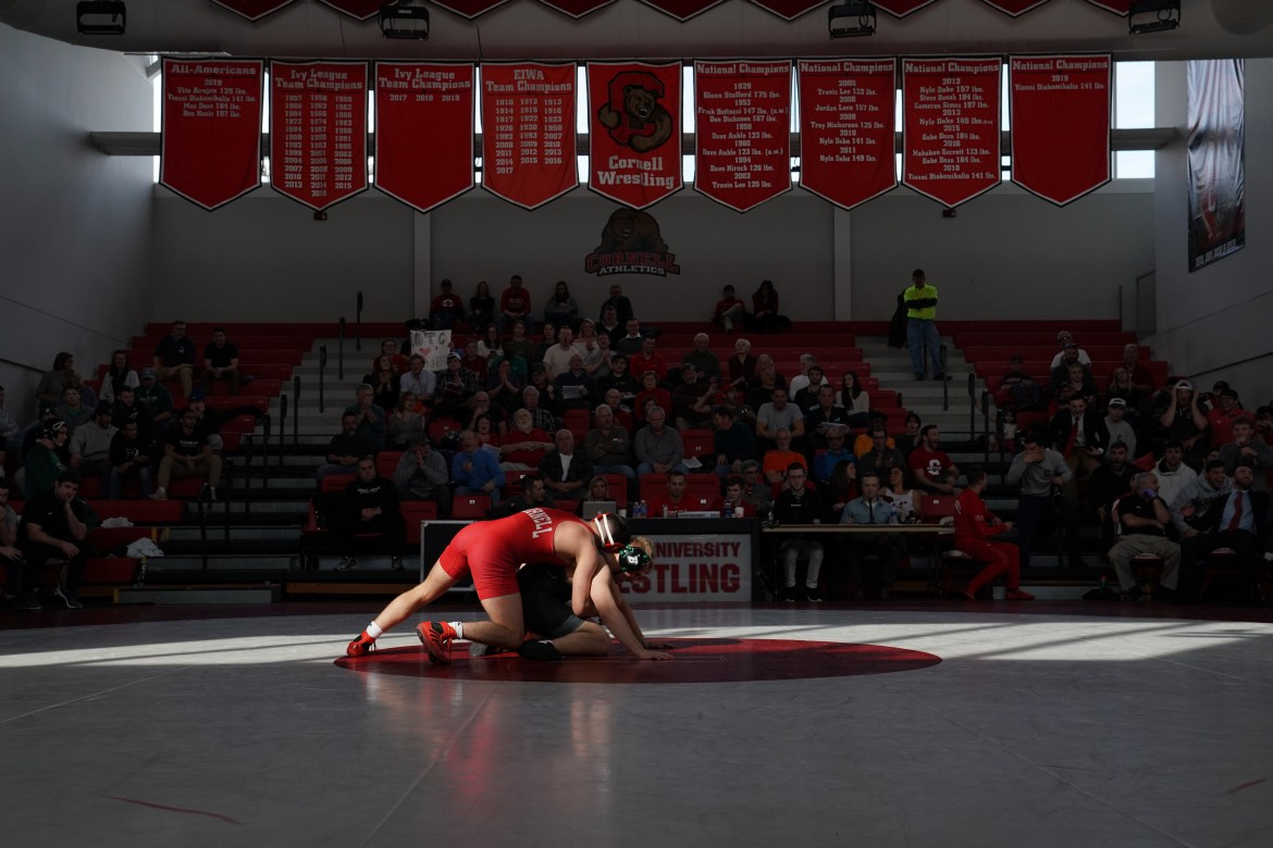 In the face of adversity, the Red still qualified eight wrestlers for the NCAA Tournament, which was ultimately canceled due to the COVID-19 pandemic.