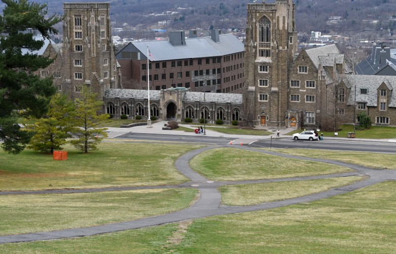 Cornell courses will resume online on April 6.