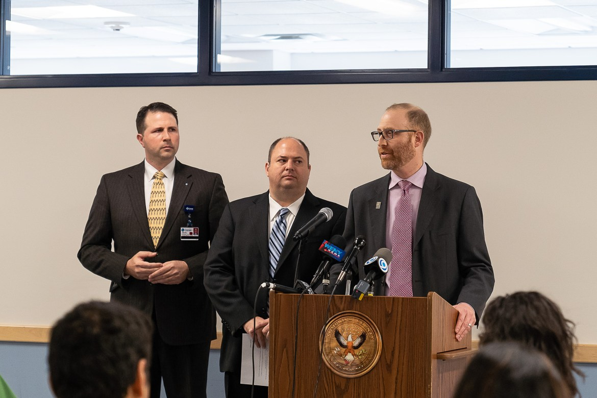 Tompkins County said the risk of COVID-19 in the region remains low at a Monday press conference. The county reported its third confirmed case of COVID-19 on Tuesday.