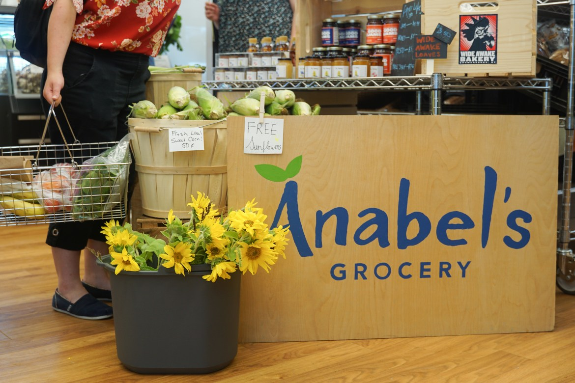 Anabel's Grocery, a store located on Cornell's campus, continues to work towards meeting the demands of their customers via Zoom.