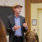 Prof. Joe Margulies gave a lecture on incarceration in Goldwin Smith Hall on September 26, 2019. This time, he spoke about the topic virtually.