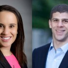 Left, Laura DeSantis '09; Right, Brian Nolan '09