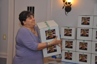 Chabad distributed Seder kits to Jewish students still in Ithaca to celebrate the first night of Passover.