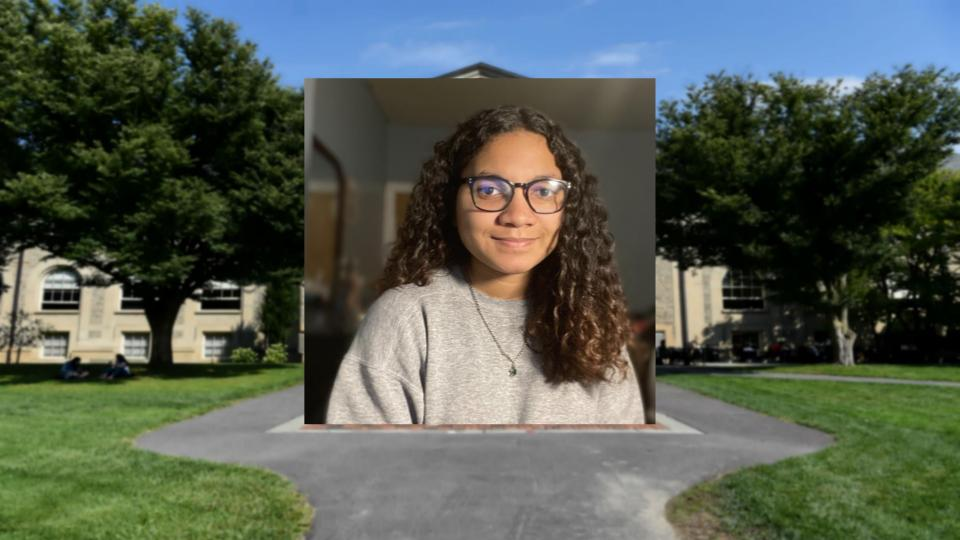 Angelica Estevez '24 committed to Cornell without having visited campus, and now she won't get to visit Ithaca during this year's Prefreshman Summer Program.