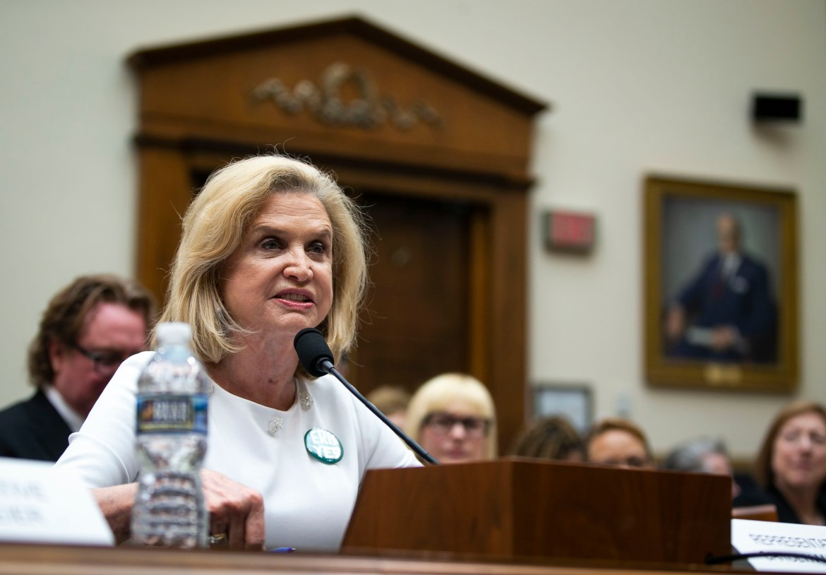 Carolyn Maloney (D-N.Y.) represents the district containing Weill Cornell Medicine–New York's 12th district. WCM has been at the epicenter of the COVID-19 outbreak, and much of the hospital's resources have been devoted to fighting the pandemic.
