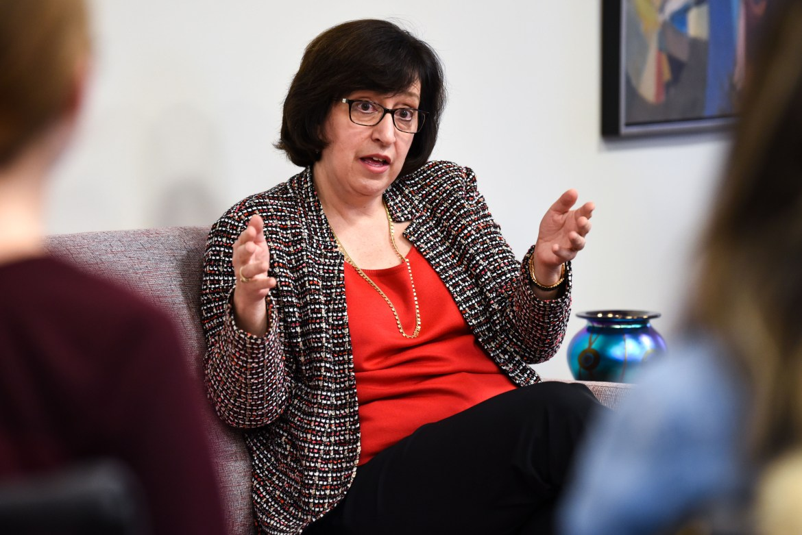 President Martha E. Pollack created a task force to address the campus climate in 2017, after a series of racist incidents.