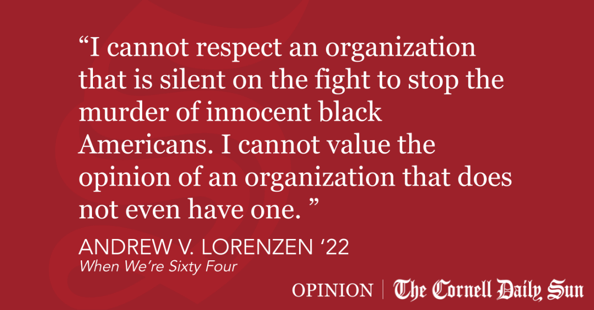LORENZEN | The Cornell Republicans Lied to Us