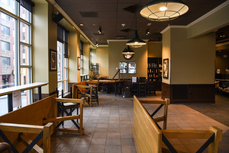 Starbucks on March 20, 2020, after dine-in operations were suspended. After Pollack announced that in-person studies would resume in the fall, many students have wondered what the Ithaca campus will actually look like during a pandemic?