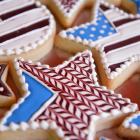 American flag cookies. (Amelia Clute / Sun Contributor)