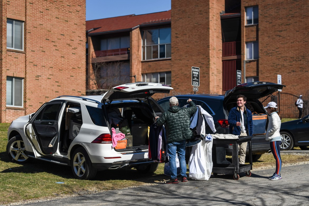 Students living on-campus are slated to move in starting Aug. 23.