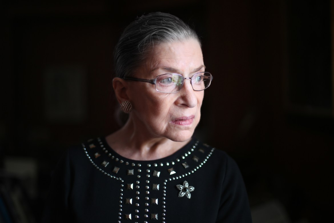 A quiet and brilliant jurist, Ruth Bader Ginsburg '54 was devoted to the law, always doing justice to the views on the other side of the issue while articulating her argument — especially in her pointed dissenting opinions.