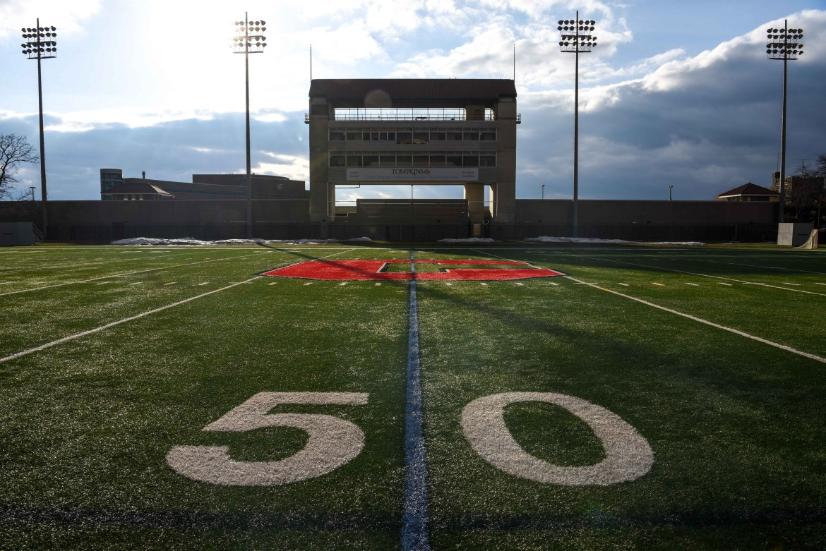 The in person component of the march will begin and end at Schoellkopf Field.