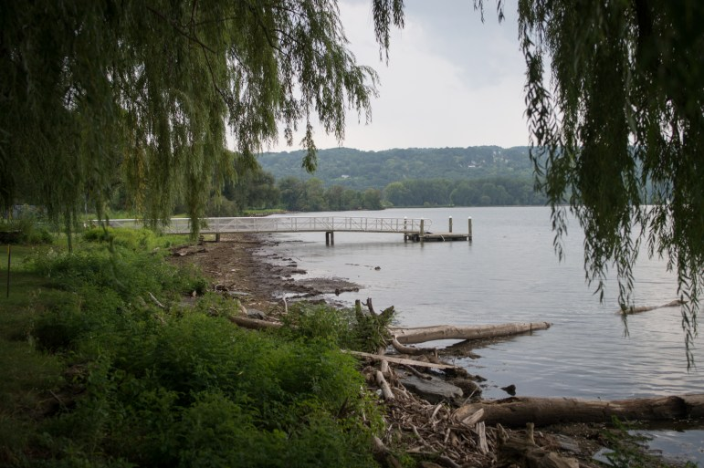 Cayuga Lake, as seen from Stewart Park, in 2017.