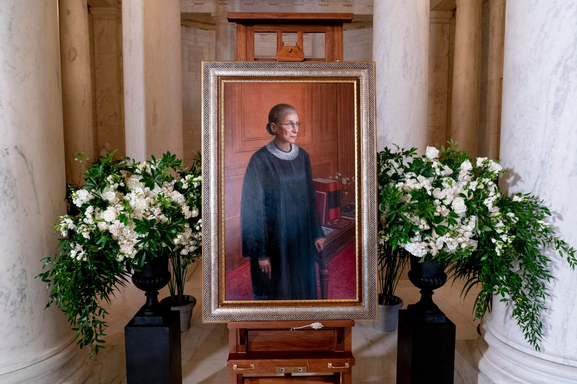 Justice Ruth Bader Ginsburg's '54 insurmountable legacy has many Cornellians believing there should be a permanent nod to her on Cornell's campus.