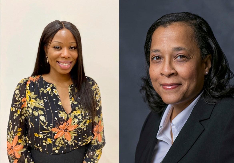 Left: Chioma Akamnonu MBA '19; right: Prof. Vicki Bogan, applied economics and management