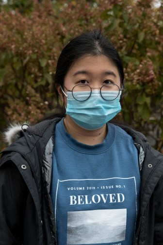 Angelina Wang '22 planned on casting her ballot in-person on election day, but was not yet sure where she would vote.