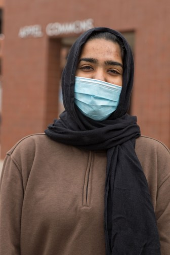 """The choice to vote for Biden was """"obvious"""" for Zainub Malick '24."""