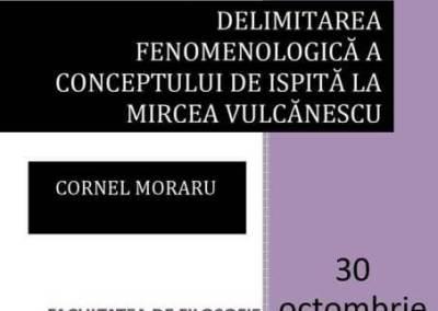 Delimitare fenomenologică a conceptului de ispită la Mircea Vulcănescu