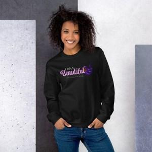 'IAm:Beautiful' Corner 10 Creative Unisex Sweatshirt