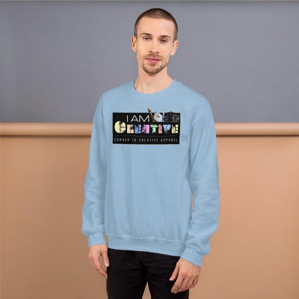 unisex crew neck sweatshirt light blue 5fe9a93ec634f