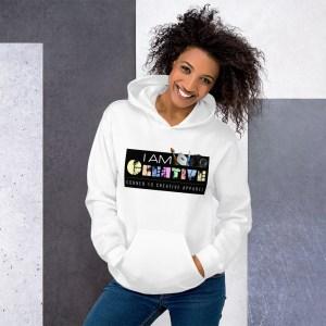 'IAm:Creative' Corner 10 Creative Hoodie