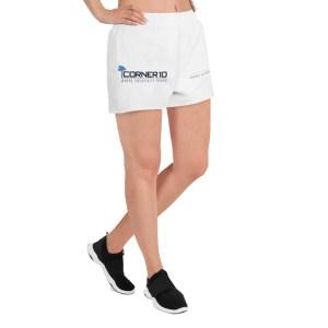 Women's Athletic 'Corner 10 Creative' Short Shorts