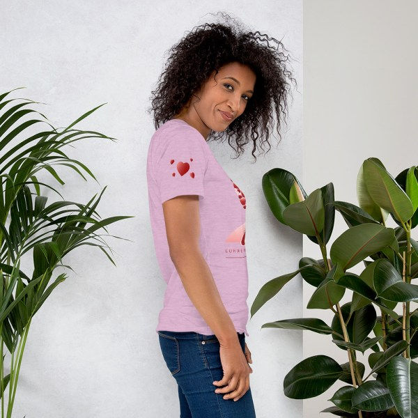 unisex premium t shirt heather prism lilac right 604541580aa29