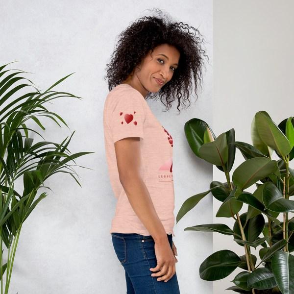 unisex premium t shirt heather prism peach right 604541580f30c
