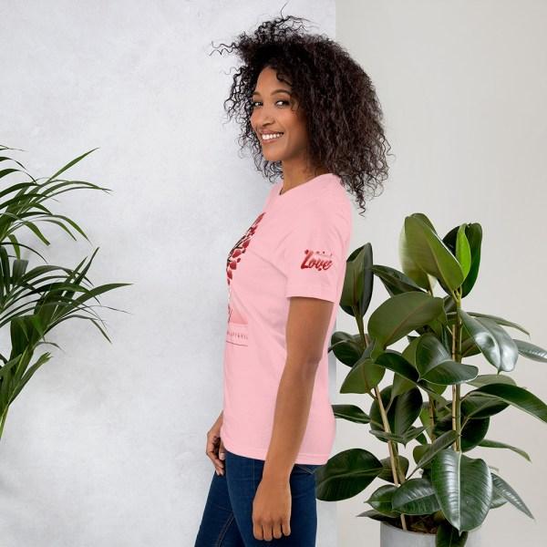 unisex premium t shirt pink left 6045415811beb