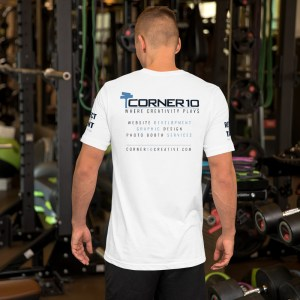 Corner 10 'Promo Heroes' Short-Sleeve Unisex T-Shirt