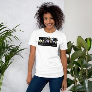 'IAm:Creative' Corner 10 Creative Short-Sleeve Unisex  T-Shirt (Bella + Canvas 3001)