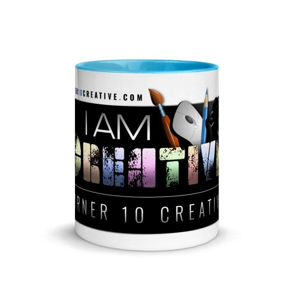 white ceramic mug with color inside blue 11oz front 6043e98e7fde7