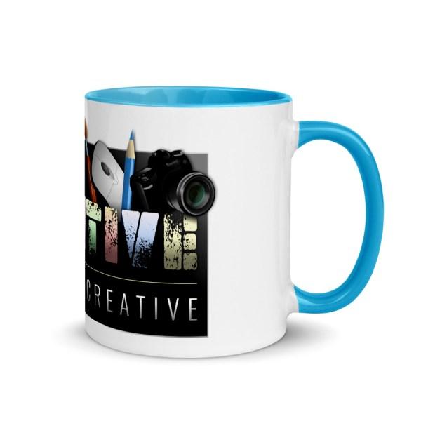 white ceramic mug with color inside blue 11oz right 6043e98e7fe4c